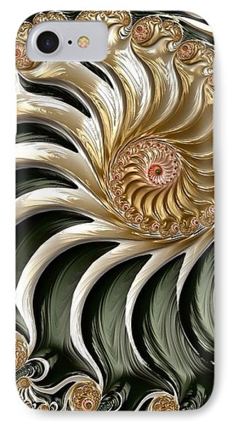 The Emerald Queen's Nautilus IPhone Case