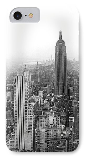 The Empire State Building IPhone Case by Underwood & Underwood