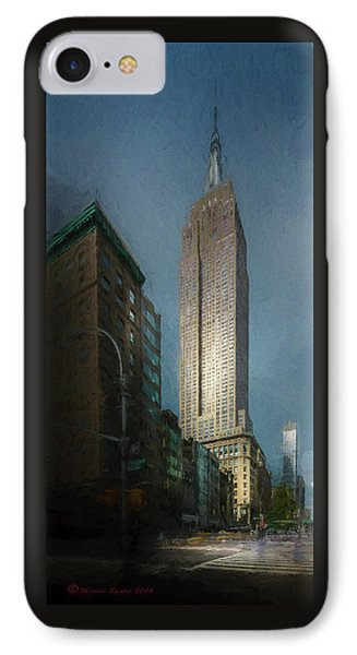 The Empire State IPhone Case by Marvin Spates