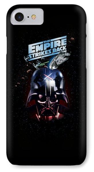 The Empire Strikes Back IPhone Case by Edward Draganski