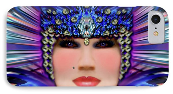 IPhone Case featuring the photograph The Empress Barbaka #192 by Barbara Tristan