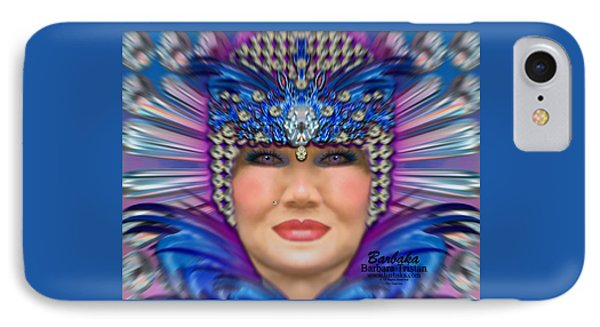 IPhone Case featuring the photograph The Empress by Barbara Tristan