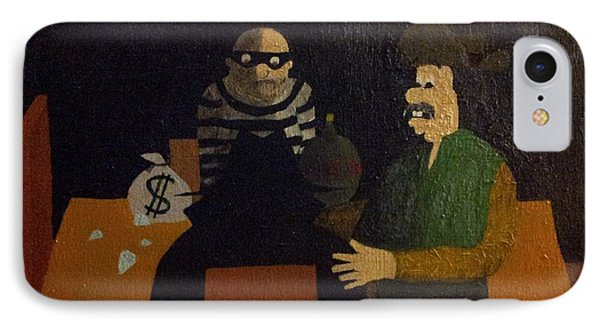 The Empty Chair IPhone Case by William Douglas