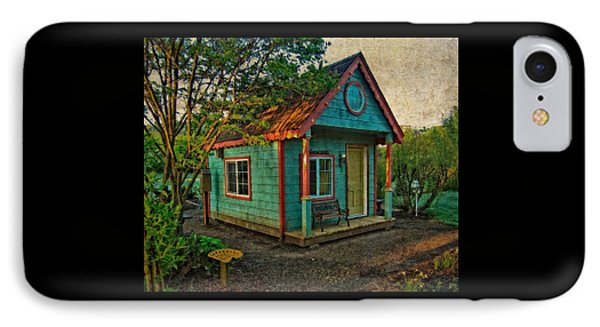 The Enchanted Garden Shed IPhone Case by Thom Zehrfeld