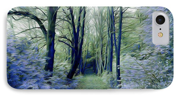 The Enchanted Wood IPhone Case by Chris Armytage
