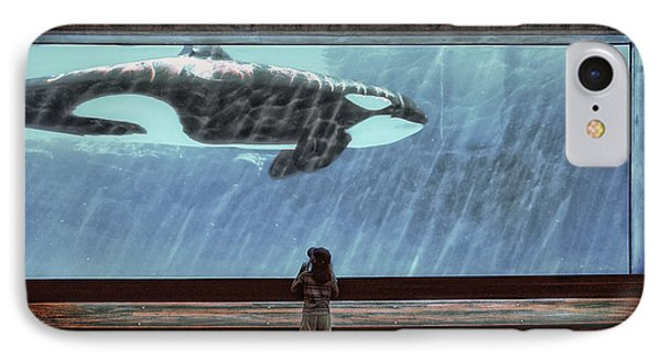 The Encounter Phone Case by Heather  Rivet