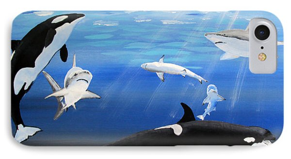 The Encounter IPhone Case by Luis F Rodriguez