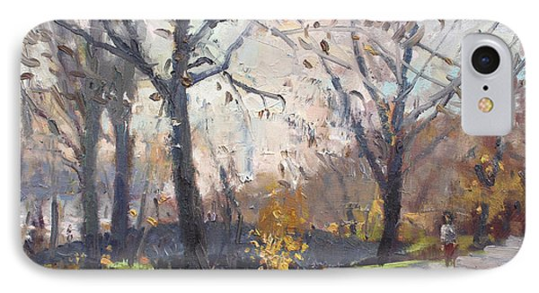 The End Of Fall At Three Sisters Islands IPhone Case by Ylli Haruni