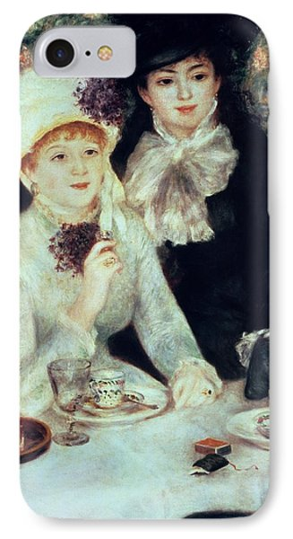 The End Of Luncheon Phone Case by Pierre Auguste Renoir