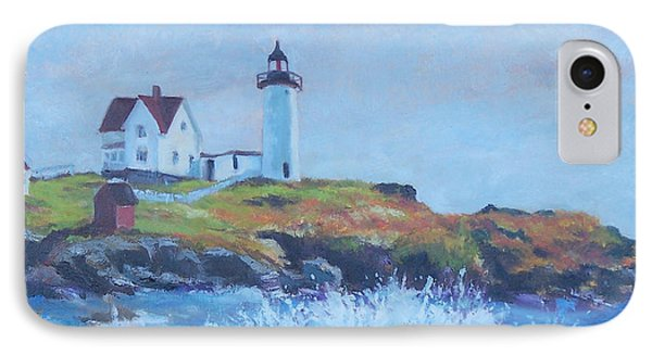 The End Of Summer- Cape Neddick Maine Phone Case by Alicia Drakiotes