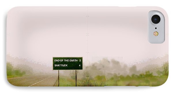 The End Of The Earth IPhone Case