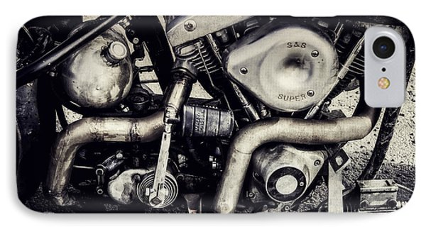 IPhone Case featuring the photograph The Engine by Ari Salmela