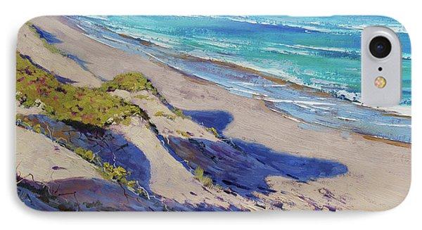The Entrance Beach Dunes, Australia IPhone Case by Graham Gercken