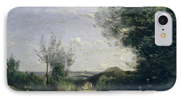 The Environs Of Paris IPhone Case by Camille Corot