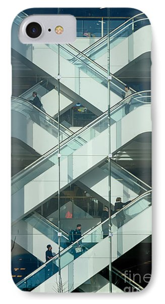 The Escalators IPhone Case