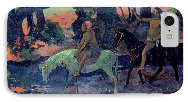 The Escape IPhone Case by Paul Gauguin