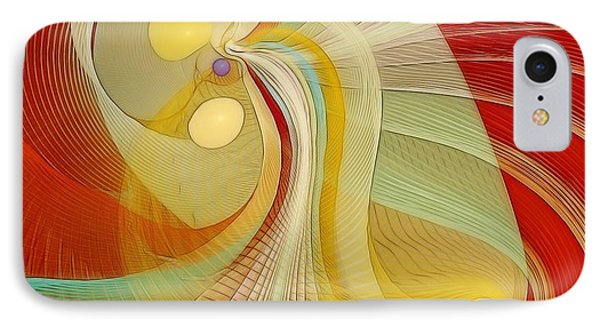 The Essence Of Time Phone Case by Gayle Odsather