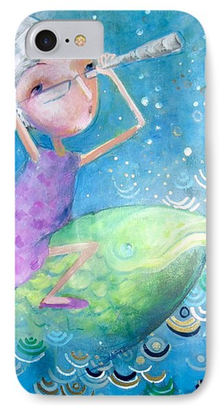 IPhone Case featuring the painting The Eternal Quest by Eleatta Diver