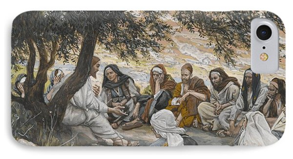 The Exhortation To The Apostles IPhone Case by Tissot