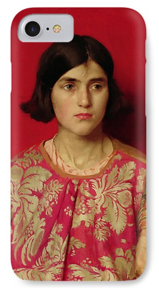 The Exile - Heavy Is The Price I Paid For Love Phone Case by Thomas Cooper Gotch