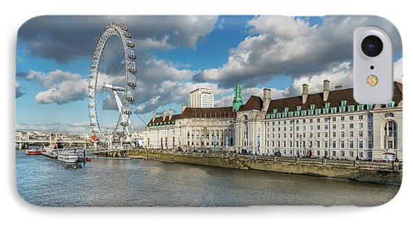 The Eye London IPhone 7 Case by Adrian Evans