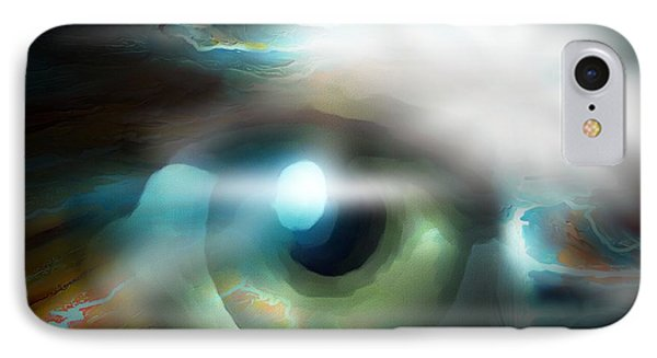 The Eye Of The Storm IPhone Case by Bob Salo