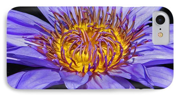 The Eye Of The Water Lily IPhone Case