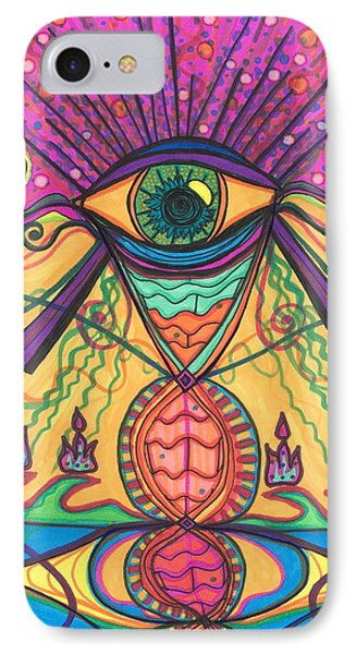 The Eye Opens... To A New Day IPhone Case