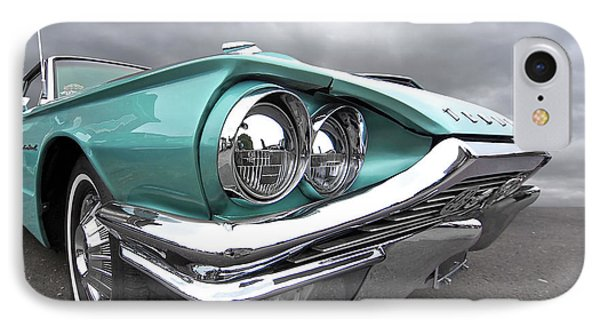 IPhone Case featuring the photograph The Eyes Have It - 1964 Thunderbird by Gill Billington