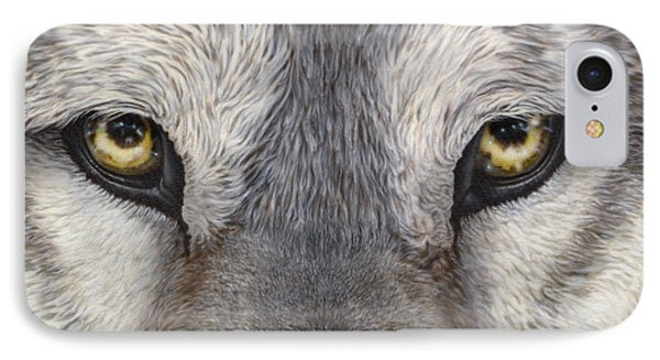 The Eyes Have It IPhone Case by Wayne Pruse