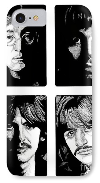 The Fab Four IPhone Case by Cory Still