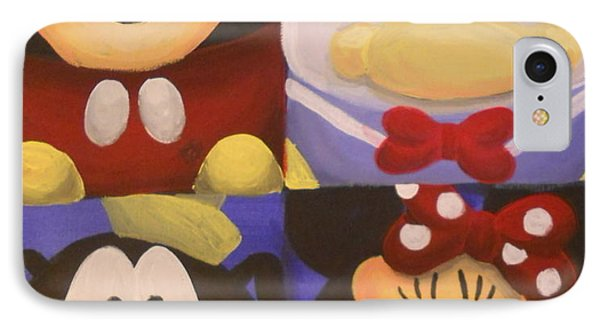 The Fab Four IPhone Case by Lisa Leeman