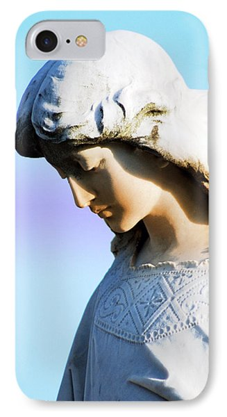 The Face Of An Angel Phone Case by Susanne Van Hulst