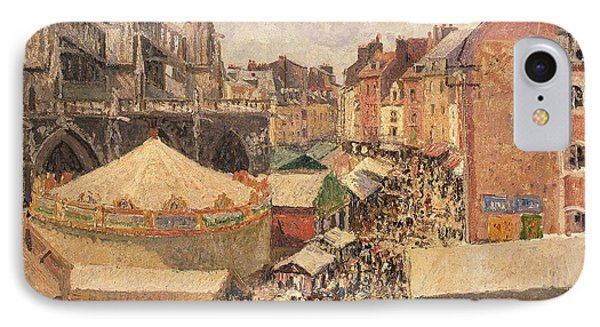 The Fair In Dieppe IPhone Case