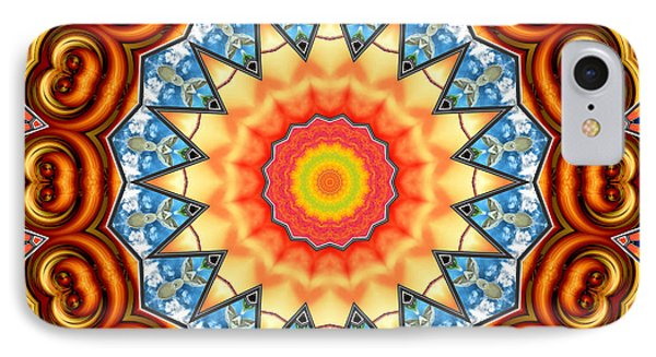 The Fairground Collective 05 IPhone Case by Wendy J St Christopher