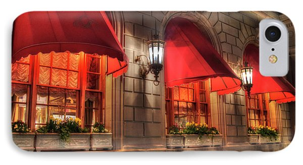IPhone Case featuring the photograph The Fairmont Copley Plaza Hotel - Boston by Joann Vitali