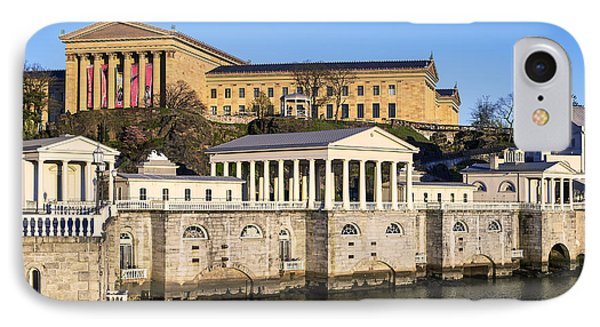 The Fairmount Water Works And Art Museum Phone Case by John Greim