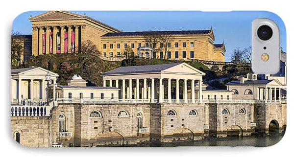 The Fairmount Water Works And Art Museum IPhone Case by John Greim