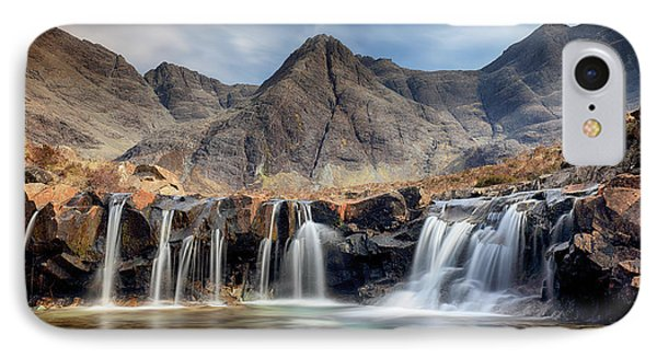 IPhone Case featuring the photograph The Fairy Pools - Isle Of Skye 3 by Grant Glendinning