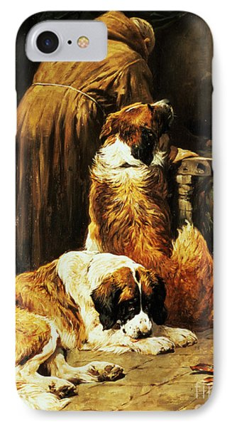 The Faith Of Saint Bernard IPhone Case