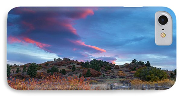 IPhone Case featuring the photograph The Fall Meadow by Tim Reaves