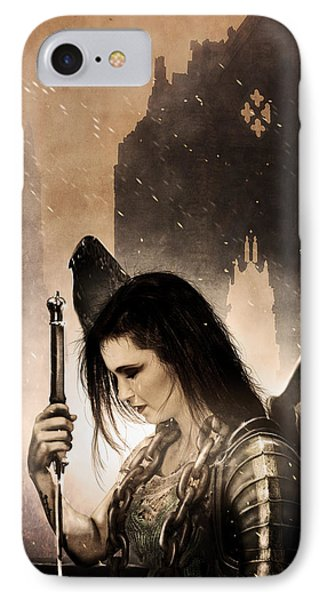 The Fallen IPhone Case by Jeremy Martinson
