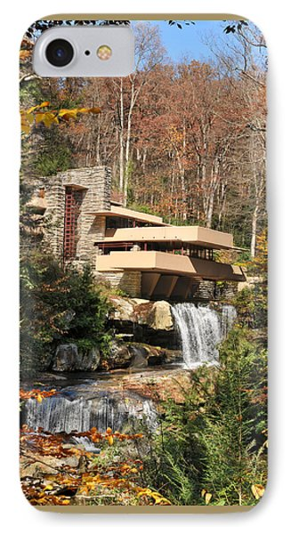 The Fallingwater IPhone Case by Edwin Verin