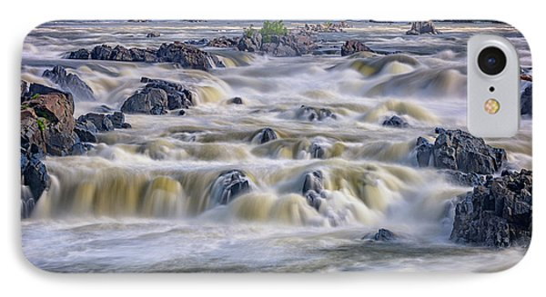 The Falls At Great Falls Park IPhone Case by Rick Berk