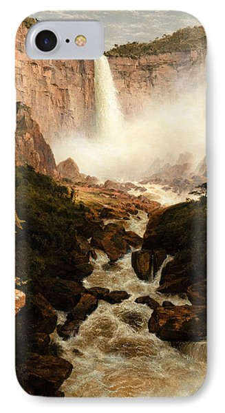 The Falls Of The Tequendama Near Bogota New Granada IPhone Case