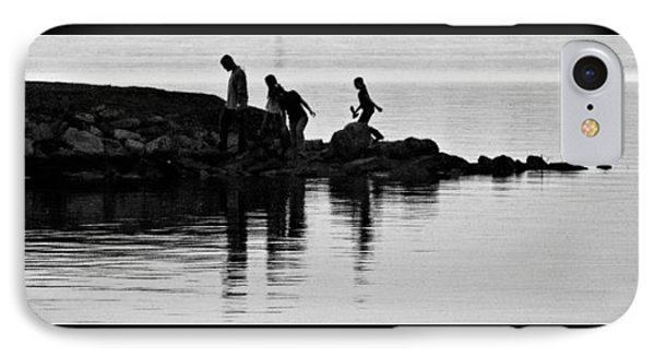 The Family That Plays Together IPhone Case