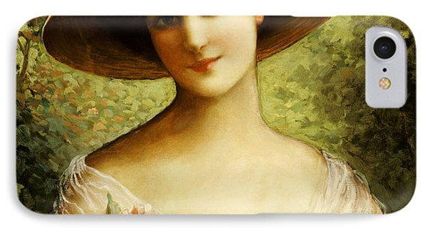 The Fancy Bonnet Phone Case by Emile Vernon