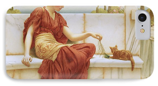 The Favorite IPhone Case by John William Godward