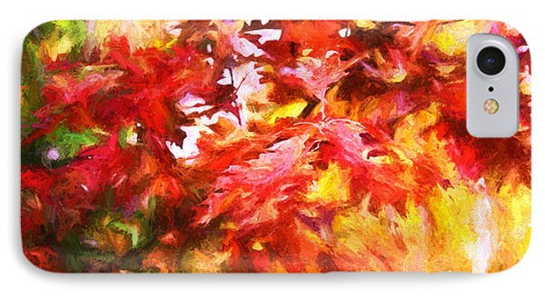 The Feel Of Autumn IPhone Case by Susan Crossman Buscho