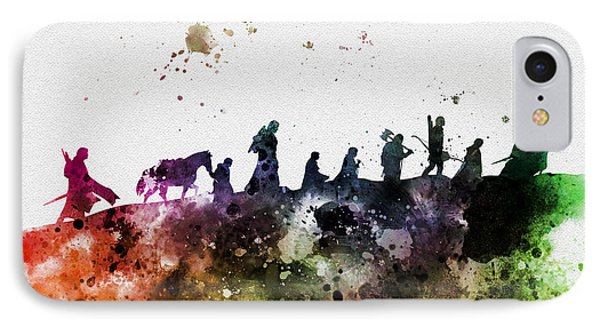 The iPhone 7 Case - The Fellowship by My Inspiration